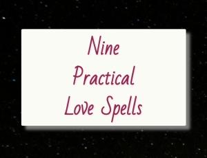 FD Nine practical love spells cover image